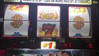 "Progressive Jackpot Hand pay & Mega Win ""Black Diamond"" Max Bet•Blazing $7$ - Max $5 [カジノ] [勝利スロット]"