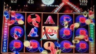 Club Moulin Slot Machine Bonus + Nice Line Hit - 13 Free Games with All Wins 2x - Nice Win