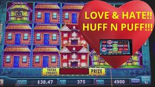 •WIFE• LOVES AND HATES HUFF N PUFF SLOT MACHINE!