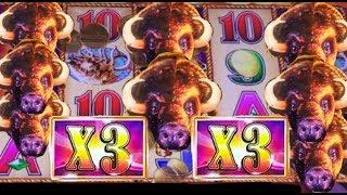 BUFFALO GOLD slot machine MEGA WIN - Mystical Unicorn slot BONUS and more!
