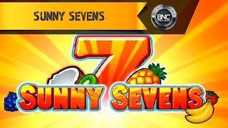 Sunny Sevens slot by Gamomat