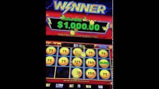 $1000 MAX Major Jackpot Lightning Link Hold & SPIN Bonus Round Slot Machine