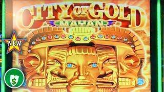 •️ New - City of Gold Mayan slot machine, bonus