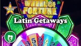 •️ New - Wheel of Fortune Latin Getaways slot machine, bonus