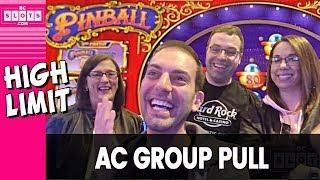 • HIGH LIMIT Group Pull • GREAT Time @ Hard Rock AC • BCSlots