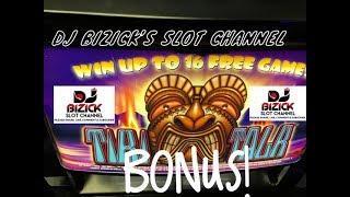 ~~$$ BONUS TIME $$~~ Tiki Talk Slot Machine ~ ARISTOCRAT • DJ BIZICK'S SLOT CHANNEL