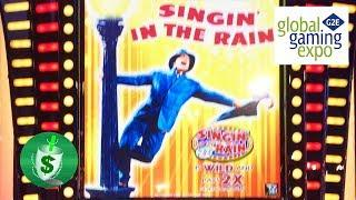#G2E2017 Everi - Singing in the Rain, Willie Nelson, Black Diamond Class II slot machines