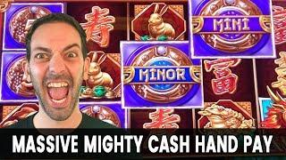 • HIGH LIMIT Mighty Cash JACKPOT!! • Massive WIN on MINIMUM BET $1s