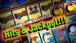 Hits&Jackpot - on Great Wall, Mystical Mermaid, Money Blast  - Video Slots