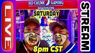⋆ Slots ⋆LIVE AT HO CHUNK GAMING MADISON ⋆ Slots ⋆LET'S GET SOME HAND PAYS!⋆ Slots ⋆ CASINO GAMBLING!