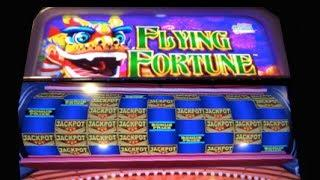 FLYING FORTUNE - Jackpot Streams | Konami - Slot Machine Progressive Win