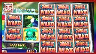 ** JACKPOT HANDPAY on CLASSIC WMS GAME ** JUNGLE WILD II ** SLOT LOVER ** • SLot Lover