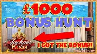 Bonus Hunt with JACKPOT KING!!