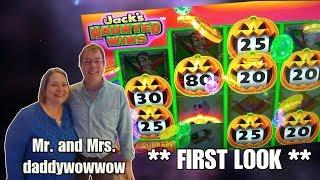JACK'S HAUNTED WINS  - FIRST LOOK - DADDYWOWWOW - THE PEPPERMILL - RENO