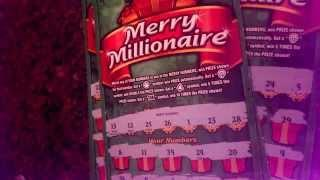 $20 Merry Millionaire Scratch Off Book Results, Part 6