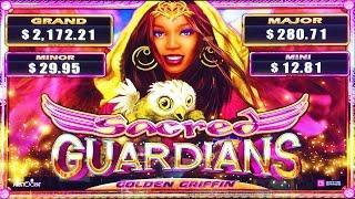 ++NEW Sacred Guardians Golden Griffin slot machine
