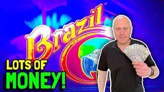 ⋆ Slots ⋆The Raja Catches 2 Brazil Bonus Jackpots! ⋆ Slots ⋆ Lots of Butterflies = Lots of Money!