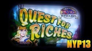 Konami - Quest for Riches Slot Line Hit