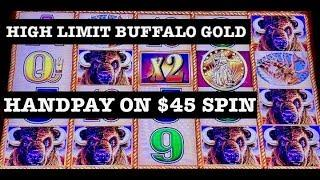 •️NEW FORMAT FULL SESSIONS •️MASSIVE HANDPAY BUFFALO GOLD •️ HIGH LIMIT $45 & $60 SPINS