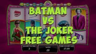 Batman & The Joker Joker Jewels Slot - Playtech