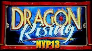 Bally - Dragon Rising Slot Bonus & Progressive WINS