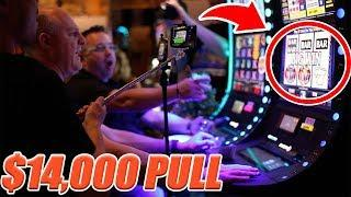 • $14,000 MASSIVE GROUP PULL! • High Limit Slot Play •The Big Jackpot