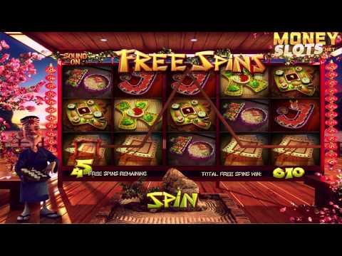 Sushi Bar Video Slots Review   MoneySlots.net