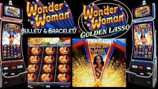 NEW GAME!! *WONDER WOMAN GOLDEN LASSO/BULLET & BRACELETS*