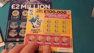 New..£2.Million..BIG DADDY..+ Bonus Scratchcard...   One Card Wonder Game...(COMING SOON..SEE BELOW)