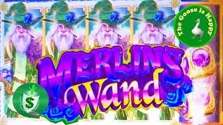 • Merlin's Wand slot machine