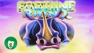 •️ NEW -  Fortune Rhino slot machine, bonus