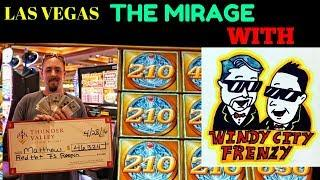 WINNING IN LAS VEGAS WITH •WINDY CITY FRENZY• HANGOVER PART 2• & MIGHTY CASH•
