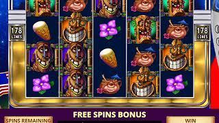 FREAKI TIKI 2 Video Slot Game with a FREAKI TIKI 2 FREE SPIN BONUS