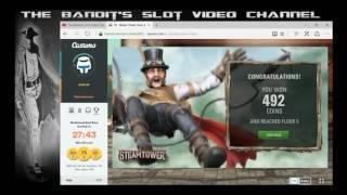 Online Slot Bonus Compilation including Fruit Warp, Captain Venture and Montezuma