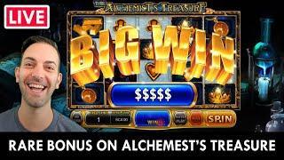 ★ Slots ★ LIVE SLOTS! ★ Slots ★ RARE Alchemist's Treasure BONUS ★ Slots ★ PlayChumba Social Casino
