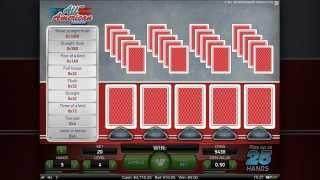 Video Pokers Instructional - NetEnt