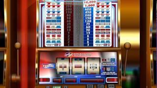 Simbat IGT 4th Of July Slot Machine