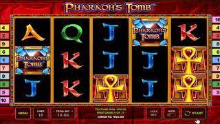 Pharaoh's Tomb slots - 500 win!