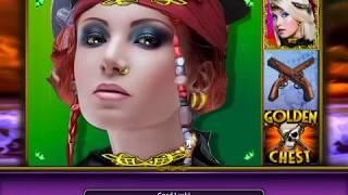 GOLDEN CHEST Video Slot Casino Game with a FREEBOOTER FREE SPIN BONUS