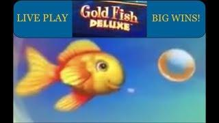 GOLDFISH DELUXE SLOT - Live Play and Big Wins!