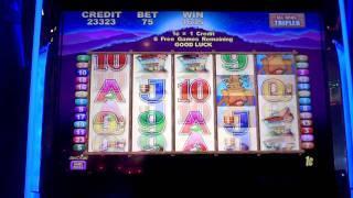 The Buck Stops Here slot bonus win at Parx Casino