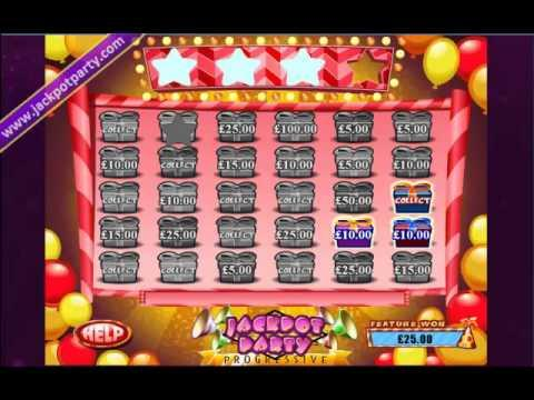 £4243 ON WIZARD OF OZ™ SUPER PROGRESSIVE WIN (428 X STAKE) - SLOTS AT JACKPOT PARTY