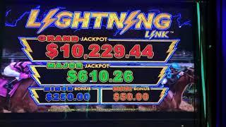 5 DRAGONS RAPID ~ LIGHTNING LINK ~ GREAT TIKI ~ Live Slot Play @ San Manuel