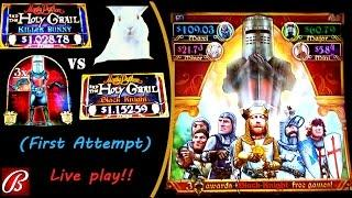 New!! ( First Attempt ) Bally - Monty Python The Holy Grail : Killer Bunny & Black Night Live Play