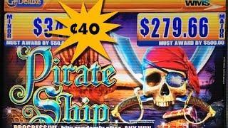 Pirate Ship Slot Machine Bonus ~ WMS