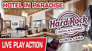 ⋆ Slots ⋆ Hotel in PARADISE ⋆ Slots ⋆ Come See the Room They Give To HIGH-ROLLERS at Hard Rock Punta