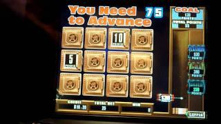 Cleopatra Fort Knox Slot Machine Bonus Win (queenslots)
