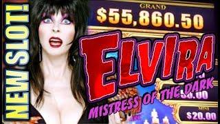 •NEW SLOT! ELVIRA MIGHTY CASH• MISTRESS OF THE DARK Slot Machine Bonus (Aristocrat | Gimmie Games)