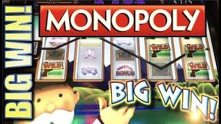 •AMAZING MONOPOLY BIG WIN! FIRST SPIN WOW!!• • REAL ESTATE TYCOON Slot Machine Bonus (WMS) REPOST