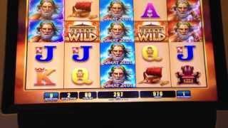 Bonus on Great Zeus  on 1c WMS Video Slots
